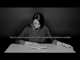 Литературный оргазм. hysterical literature- session 12. fette (official, en français, english subtitles)