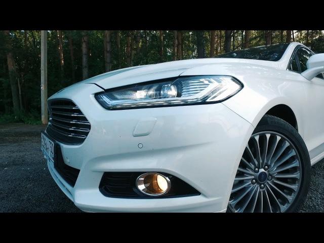Ford Mondeo 2016 ТЕСТ ДРАЙВ 240ЛС