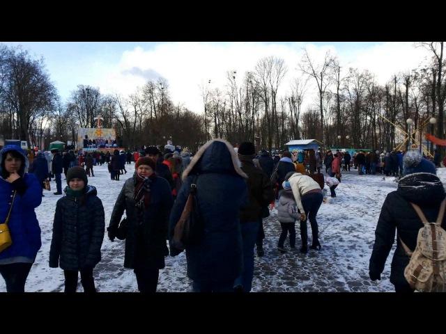 Праздник Масленицы в Лиде. Celebration of Maslenitsa in Lida. Belarus.