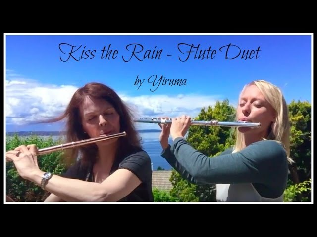 Yiruma Kiss the Rain cover by Bevani flute and Shere