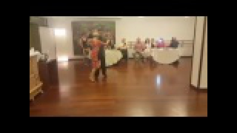 Нани Перальта и Анна Ливитина Танго уикенд День Рожденья танго в Запорожье 1 2 а