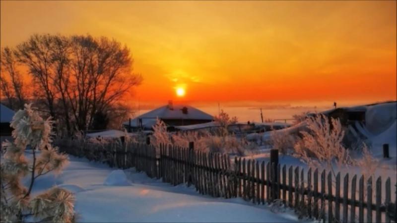 Обои На Стол Зима В Деревне