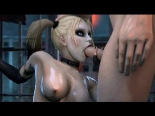 3D porn - Harley Quinn / Batman (full-length cartoon with sound)