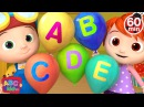 ABC Song with Balloons | More Nursery Rhymes Kids Songs - CoCoMelon