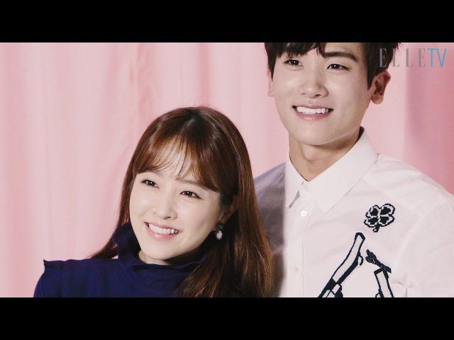 박보영 박형식의 핑크빛 케미 Park HyungSik Park BoYoung elle