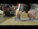 Сборка и установка дверного блока из массива