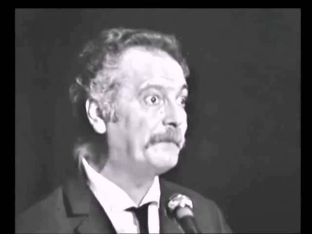 Georges Brassens Le bulletin de santé live à Bobino 1969