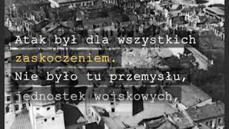 Wieluń, polska Guernica