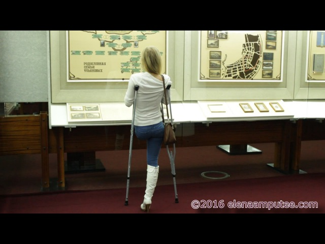 Elena amputee preview Museum