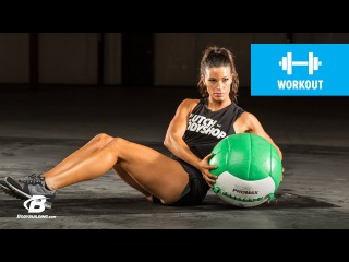 At Home Cardio and Core Workout: Day 12 | Clutch Life: Ashley Conrad's 24/7 Fitness Trainer