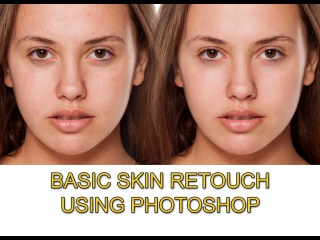 Basic skin retouch using photoshop cs6