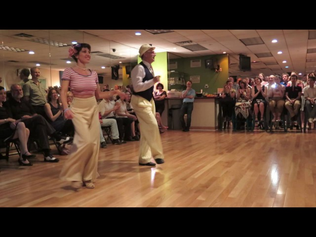 Dancing to Buona Sera with Paolo Laurentina at YSBD