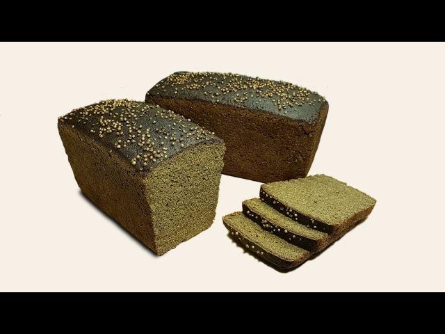 Бородинский хлеб за 30 часов с НУЛЯ