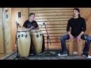MEINL Percussion Cajon Congas Duo Taku Hirano Carlos Maldonado