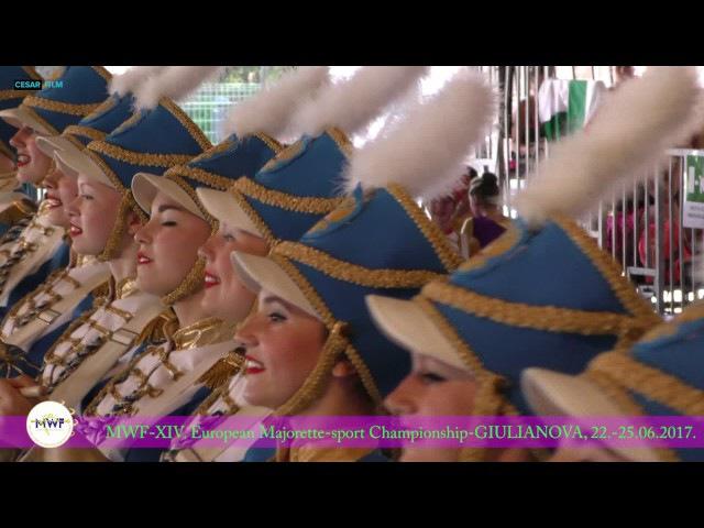 GIULIANOVA I EVROPSKO PRVENSTVO MAZORETKINjA U NjOJ JUN 2017