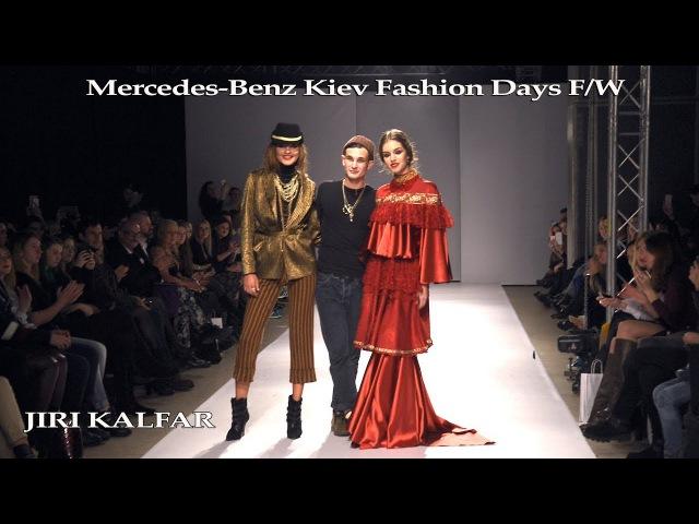 Mercedes Benz Kiev Fashion Days Jiri Kalfar Fashion Designer MBKFD 16 17