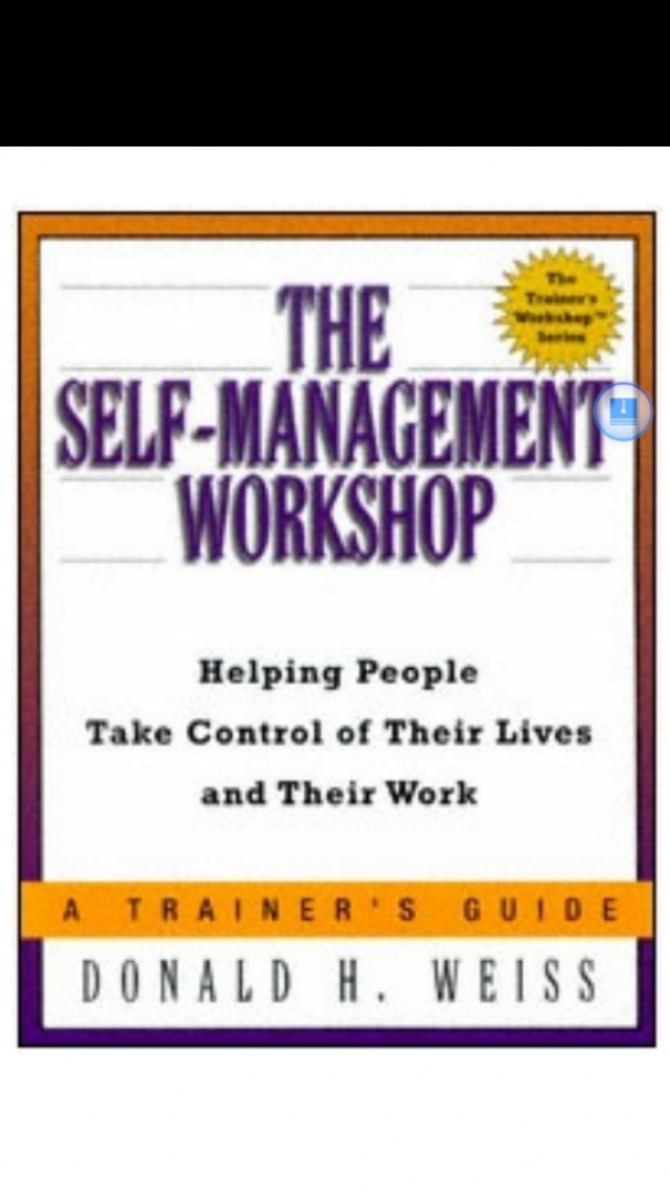 The self-management workshop  helping people take cont