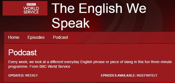 BBC RADIO: THE ENGLISH WE SPEAK
