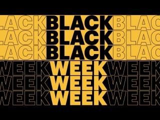 Скоро «black week» на