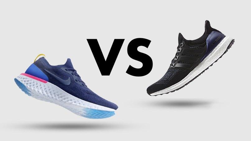 De vez en cuando invadir circuito  Материал решает: Nike React Vs. adidas BOOST | ВКонтакте