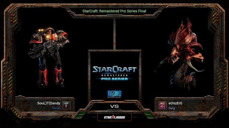 SCRemastered Pro Series Final Dandy (T) vs eOnzErG (Z)