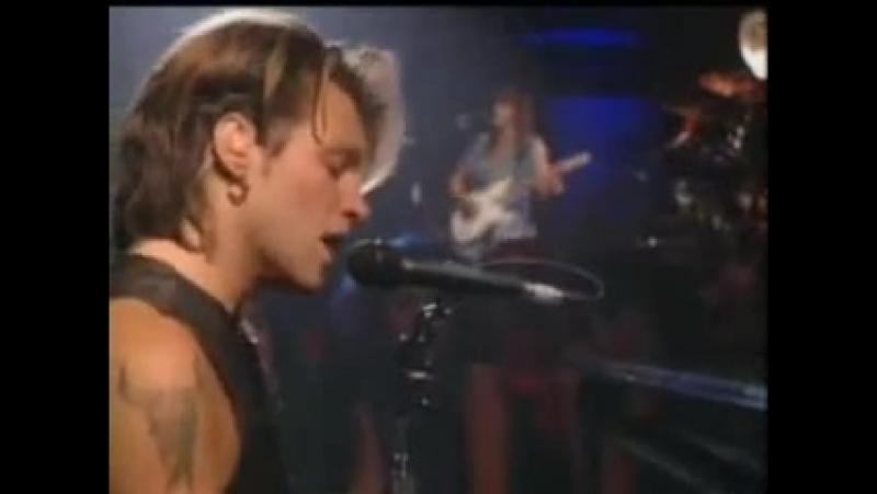 Bon Jovi Bed of Roses Live 1992