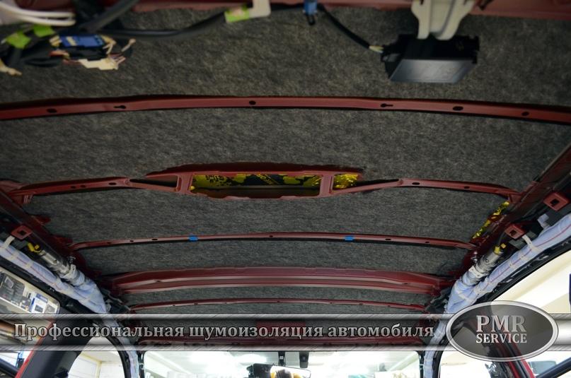 Комплексная шумоизоляция Lexus RX, изображение №8