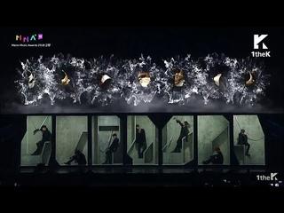 [LIVE] BTS (방탄소년단) -  Fake Love + Airplane pt2 + IDOL 'MMA Melon Music Awards 2018