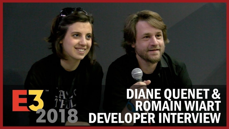 Diane Quenet Romain Wiart from Cyanide Studio Explain How To Design For Madness - USC at E3 2018