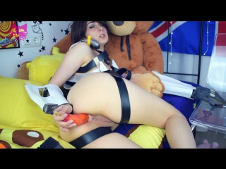 [manyvids] рitуkittу s class tracer slut of the game (1080p) [amateur, petite teen, solo, masturbation, cosplay, dildo, anal]