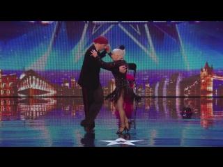 Spectacular Salsa - Paddy  Nico - Electric Ballroom ¦ Britains Got Talent 2014