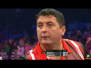 Mensur Suljovic vs Robert Thornton (PDC World Series of Darts Finals 2016 / Round 1)