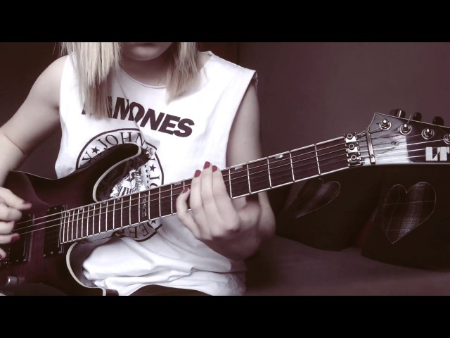 Bullet For My Valentine - Your Betrayal guitar cover by Alex Szmeja