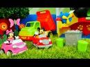 Minnie Mouse 🎀 Miki Fare temizlik oyunu Mickey Mouse Araba ile geziyor! Kız oyunu. Mini ve Miki izle