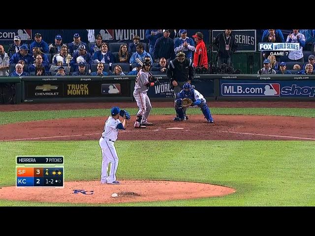 World Series G7: Giants vs. Royals [Full Game HD] 2014 год.