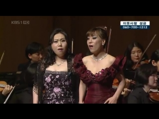 Sumi Jo  Ah-Kyung Lee - Delibes - Lakme - Flower Duet