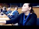 Виступ Тетяни Монтян в Європарламенті Брюссель, 05.12.16