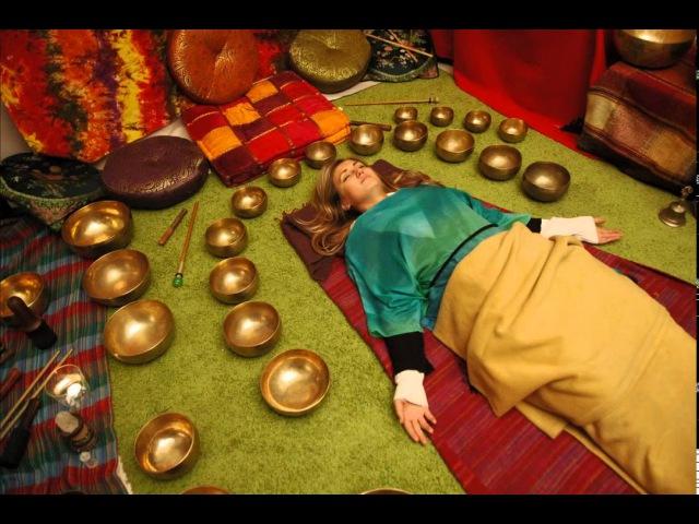 Исцеляющие Вибрации Поющих Чаш Тибетские чаши ☸ Канал Лучшей Целительной 2019