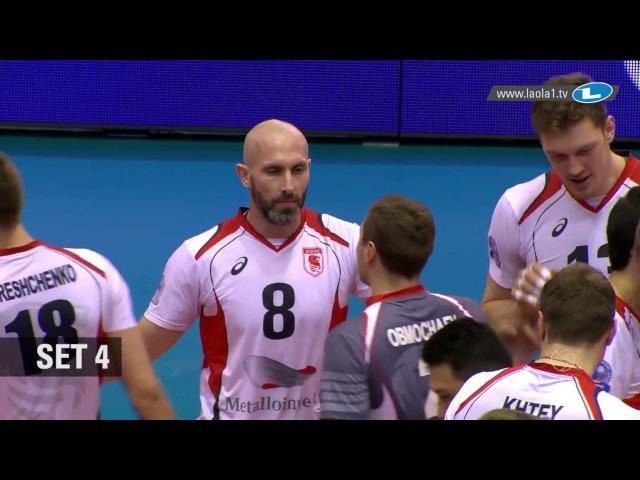 CLVolleyM - Playoff 12 Leg 1 - Highlights - Belogorie BELGOROD vs Zaksa KĘDZIERZYN-KOŹLE