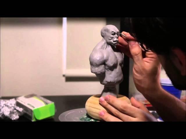 Sculpting Durotan