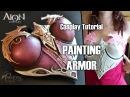 Tutoriel Cosplay 2 Peindre une armure Plastron d'AION PART2 2 FR ENGsub
