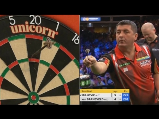 Raymond van Barneveld vs Mensur Suljovic (Champions League of Darts 2017 / Semi Final)