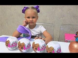 Алисе попалась РЕДКАЯ КУКЛА в Жемчужном ШАРЕ ЛОЛ !!! LOL Глиттер новая серия !