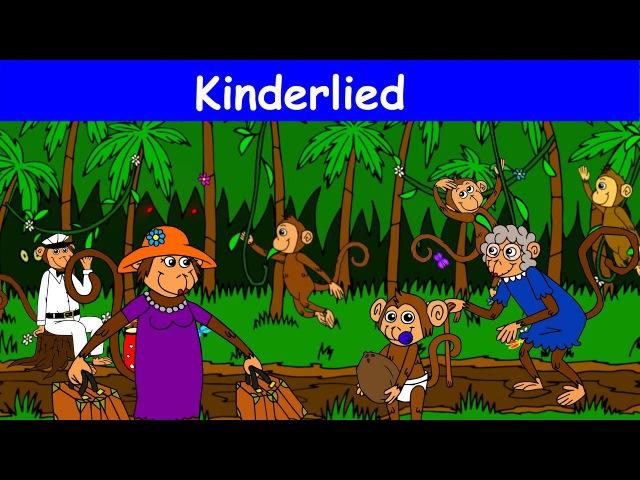 Die Affen rasen durch den Wald - Kinderlied - Sing mit YleeKids