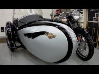 Мотоцикл Simson AWO 425 S. После реставрации. Мотоателье Ретроцикл