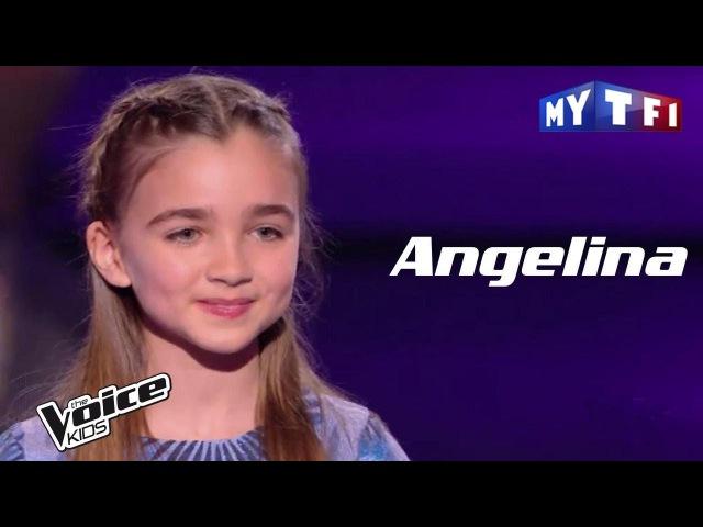 Angelina J'envoie valser Zazie The Voice Kids France 2017 Demi finale