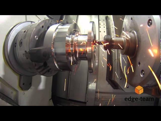 Edgecam Waveform on Okuma Multus U3000 Af Harun Göbekoglu