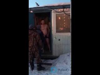 Охранники парковки ЖК Люберцы выгнали голых проституток на мороз // РИАМО в Люберцах