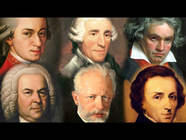 The Best of Classical Music Classical October Mozart Bach Beethoven Chopin Tchaikovsky