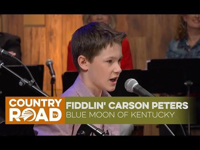 Fiddlin' Carson Peters sings Blue Moon of Kentucky